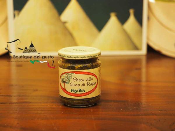 Pesto alle cime di rapa 180g immagine 0