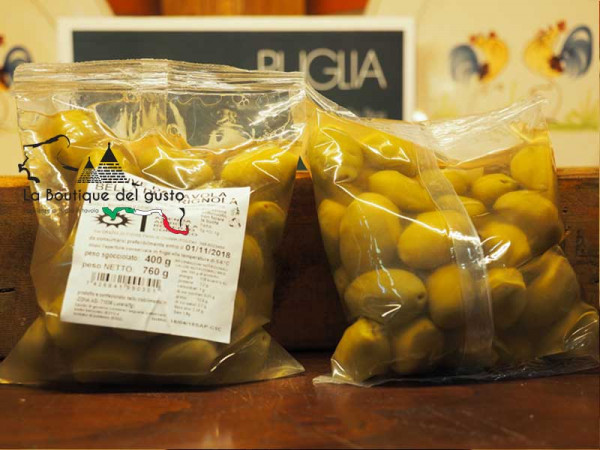 Olive Bella di Cerignola 400g immagine 0